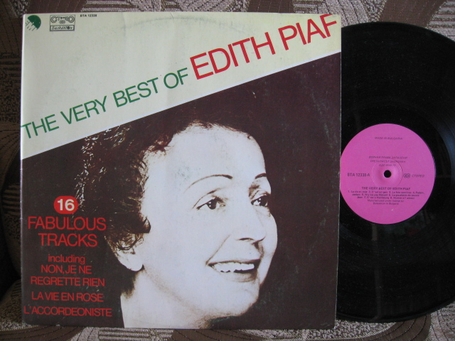 Edith Piaf The Very Best Of Edith Piaf Records Vinyl And