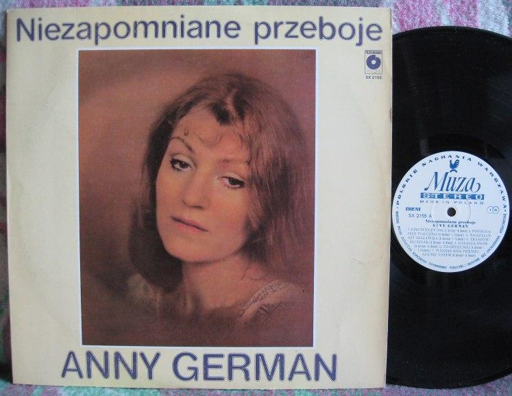 GERMAN ANNA - NIEZAPOMNIANE PRZEBOJE - LP