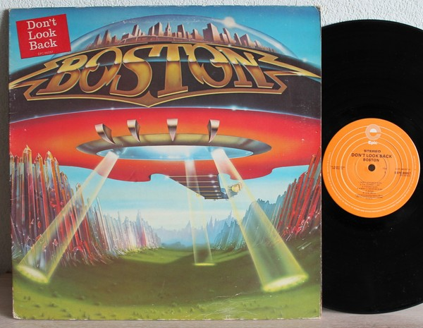 boston don 39 t look back records vinyl and cds hard to find and out of print. Black Bedroom Furniture Sets. Home Design Ideas