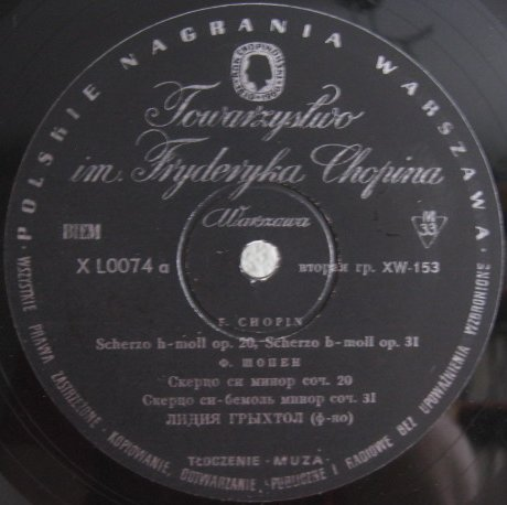 Fr 233 D 233 Ric Chopin Records And Cds Hard To Find And Out Of