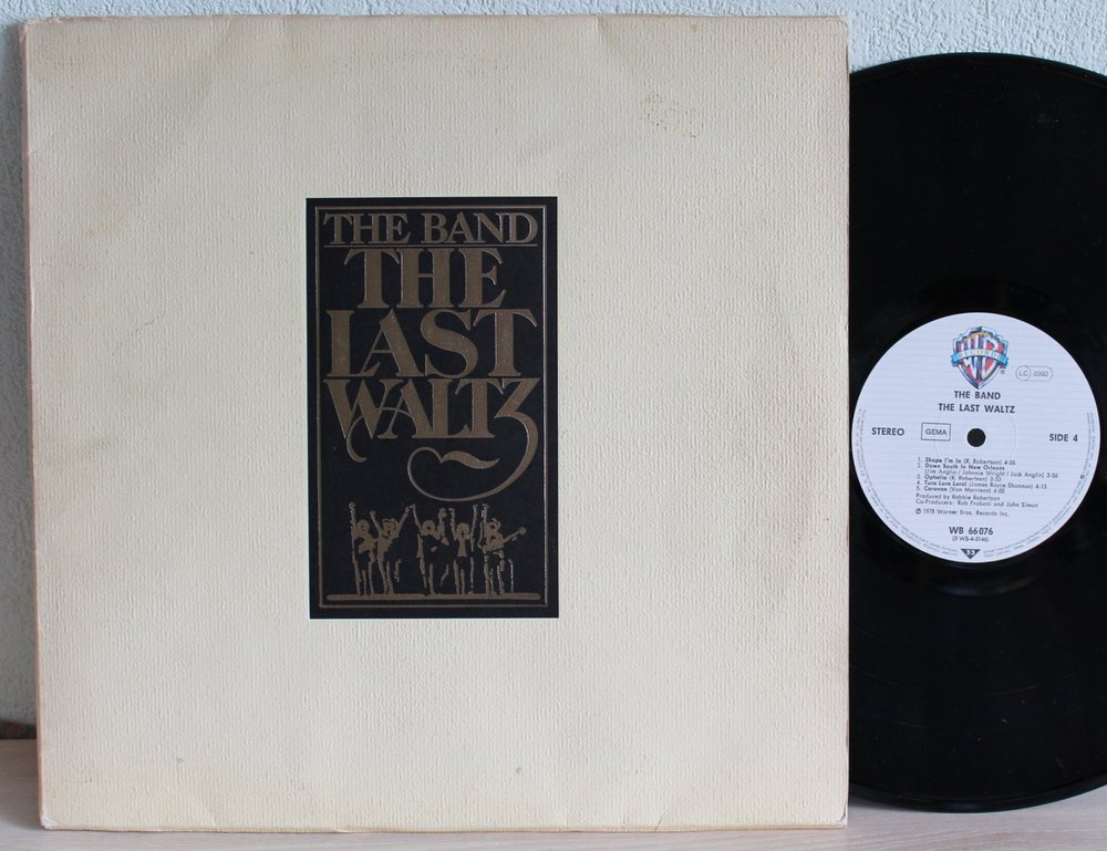 Band The Last Waltz Records Vinyl And Cds Hard To Find