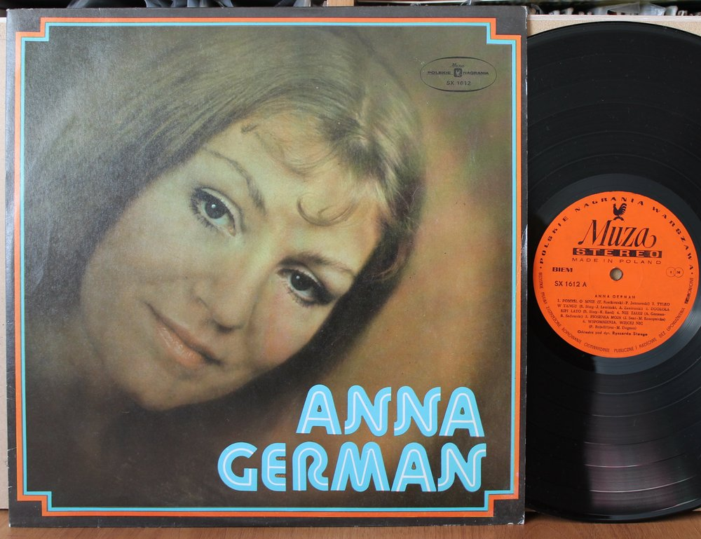 GERMAN ANNA - ANNA GERMAN - LP